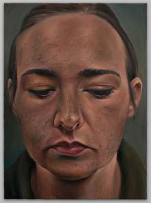 Self-Portrait With Downcast Eyes